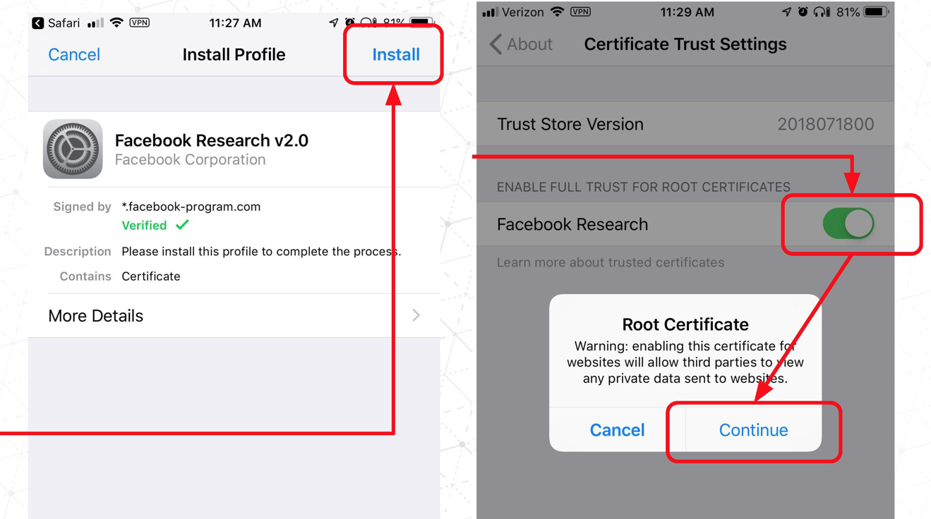 Facebook-Research-Install-Root-Certificate